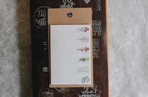 Dried Flower Sticky Notes B