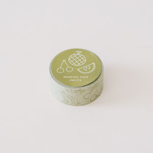 Mizushima Washi Tape: Fruits
