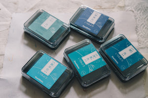 Shachihata Iromoyo Ink Pad (Blues) 24 Colours