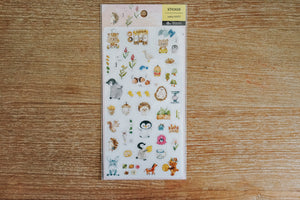 Animal Friends Zakka Stickers