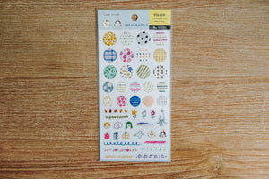 Cute Circle Zakka Stickers