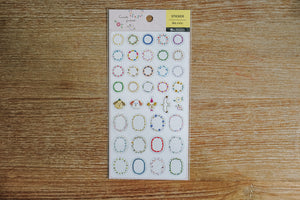 Circle Frame Zakka Stickers