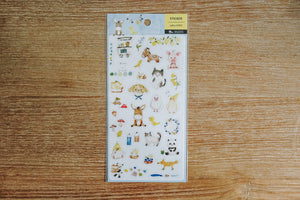 Farm Animal Friends Zakka Stickers