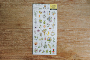 Botanical Zakka Stickers