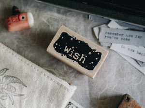 Catslife Press Wish Fragment Rubber Stamp