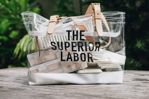 The Superior Labor-See Through Bag (Big)