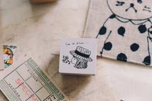 Nico Neco x deguchi Vol. 2 Let It Bloom Rubber Stamp