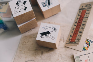 Nico Neco x deguchi Vol. 2 Surprise Yourself Rubber Stamp