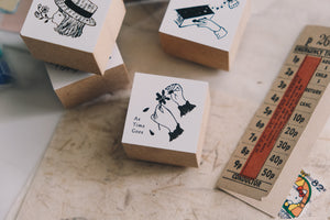 Nico Neco x deguchi Vol. 2 As Time Goes By Rubber Stamp
