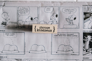 Catslife Press Choose Kindness Rubber Stamp