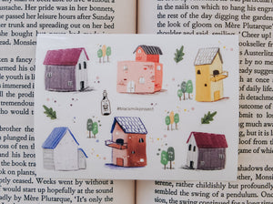Black Milk Project Mini Sticker Sheet - Houses