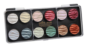Finetec Coliro Watercolor - M1200 12 Colors Pearl Set