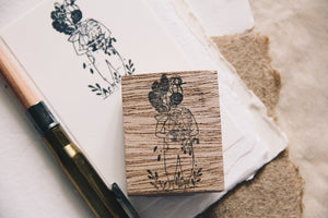 Black Milk Project Rubber Stamp - Plant Lady