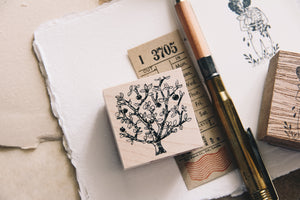 Cat Village: Fruit Tree Stamp