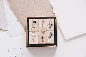 One Day: Courage Stamp Set A