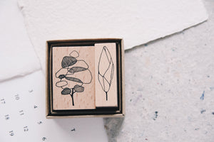 One Day: Tree Stamp Set C