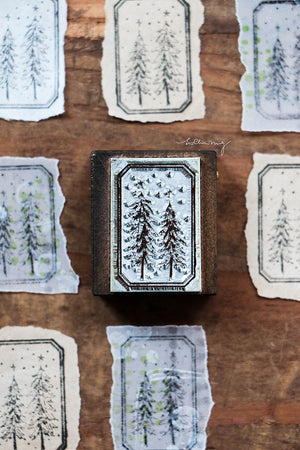 New Stars: Treen Tree Metal Stamp