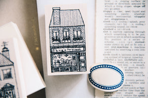 Cat City: Peter's Antique Store Rubber Stamp