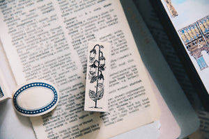 Birch and Bunnies: Belladona Lamp Rubber Stamp
