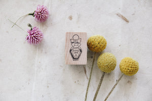 msbulat Happy Vibes Potion Rubber Stamp