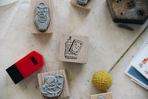 msbulat Stories Rubber Stamp