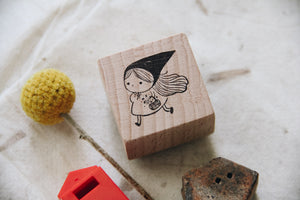 msbulat Stealing Stars Rubber Stamp