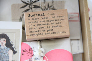 Liberty Journal Dictionary Rubber Stamp