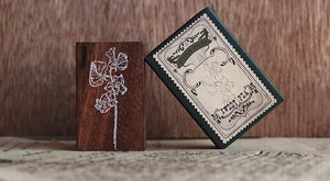 Jieyanow Atelier Garden of Inspiration: Sweet Pea Rubber Stamp