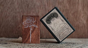 Jieyanow Atelier Garden of Inspiration: Rose Rubber Stamp