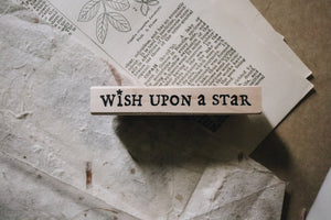 Catslife Press Wish Upon a Star Rubber Stamp