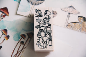 Village by the Oaktree: Villa Mushroom Rubber Stamp