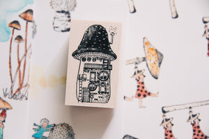 Village by the Oaktree: Maison Mushroom Rubber Stamp