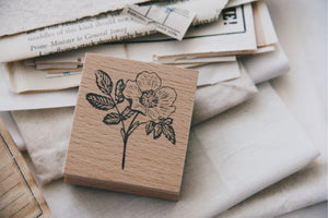 Stempel Jazz Rose Rubber Stamp