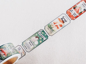 Liang Feng X'Mas is Coming Washi Tape MTW-LF062