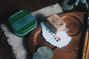 Yamadoro Pigment Rubber Stamp