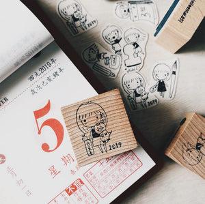 2019 Year of the Pig Rubber Stamp (Limited Edition)
