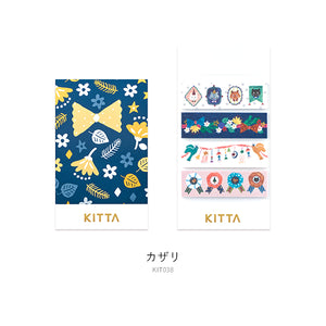 KITTA Washi Tape - KIT038 Kazari