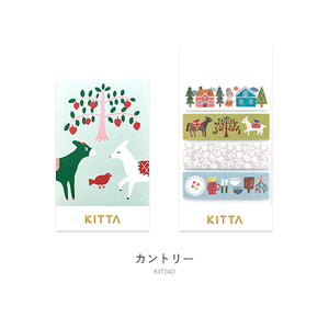 KITTA Washi Tape -KIT040 Country