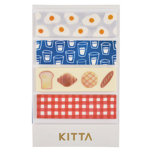 KITTA Washi Tape -KIT012 Breakfast