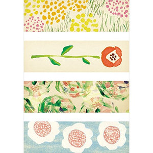 KITTA Washi Tape -KIT022 Flower 2