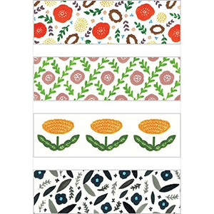 KITTA Washi Tape -KIT027 Flower 3