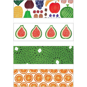 KITTA Washi Tape -KIT025 Fruits
