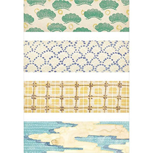 KITTA Washi Tape - KIT021 Japanese Pattern