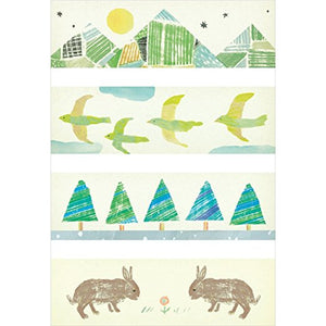 KITTA Washi Tape -KIT024 Mountain