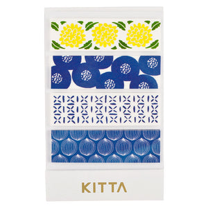 KITTA Washi Tape -KIT009 Pattern
