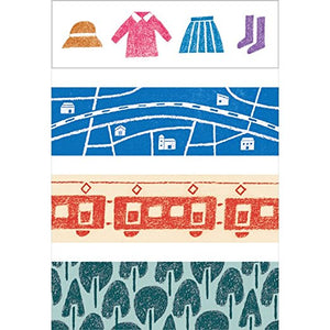 KITTA Washi Tape -KIT030 Travel