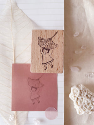 msbulat Leaf it to Me Rubber Stamp