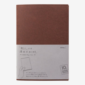 MD Paper Cover - 10th Anniversary - A5 Dark Brown