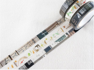 Chamil Garden Season Colour Washi Tape- Mushikuri (MTW-CH283)