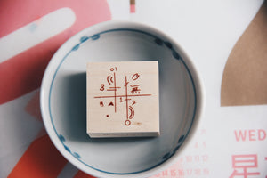 Ncnc Original Japanese Rubber Stamp vol. 2 No. 3